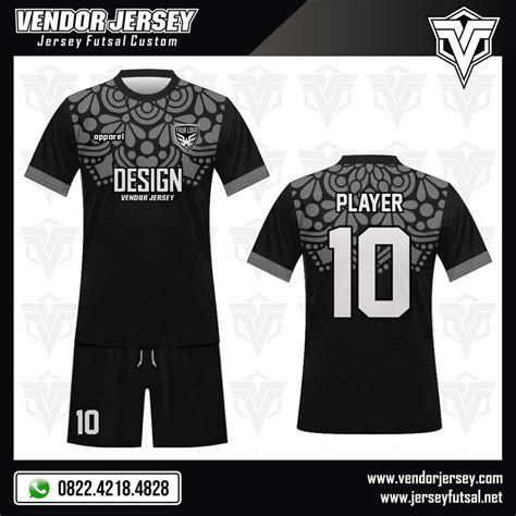 Desain Baju Futsal Biru Hitam | desain baju futsal garnish vendor jersey futsal