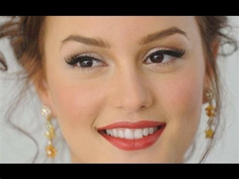 gossip girl hairstyles youtube makeup tutorial blair waldorf leighton meester by