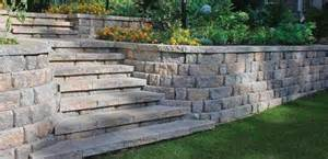 home depot retaining wall cure erosion on a sloped landscape the home depot community