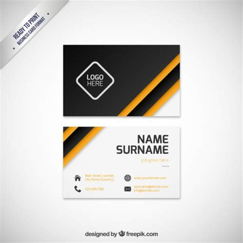 modern business cards templates modern business card template vector premium