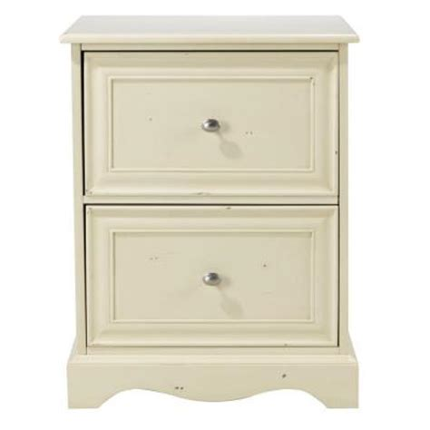 home decorators collection sheffield 2 drawer file cabinet in antique white 0820300460 the