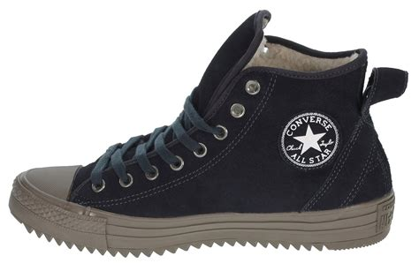 converse ct hollis winter weight shearling lined suede