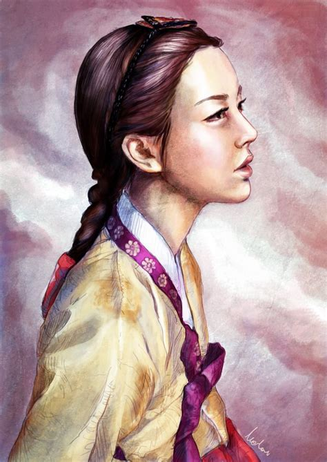 korean hairstyle for hanbok 91 best hanbok images on pinterest