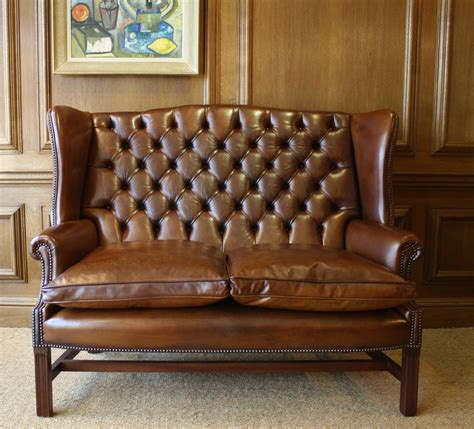traditional leather wingback chair leather wingback chair and ottoman jacshootblog