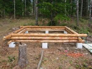 Small Log Cabin Floor Plans And Pictures foundation for new cabin yesterday s tractors