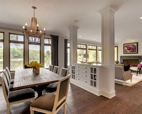 www houzz living room between living and dining room houzz