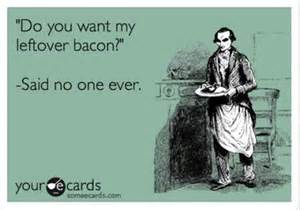 bacon ecard dump a day