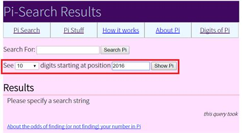 Pi Search 圓周率大搜查 魔數學堂