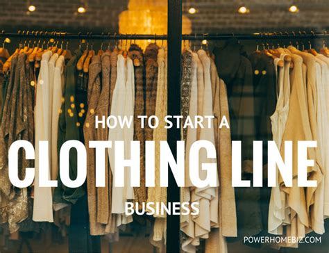 how to start a clothing line business or apparel manufacturing