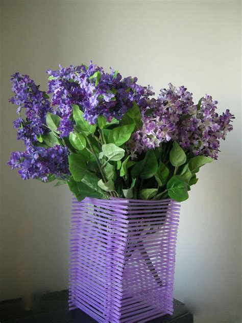 Flowers And Vases Diy Straw Flower Vase For Your Wedding Flower Vases