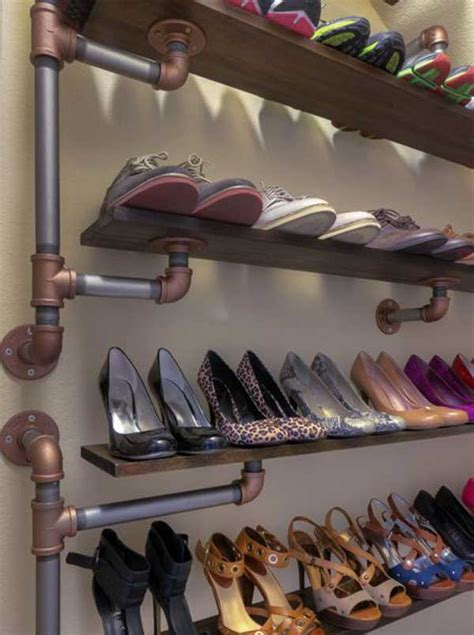 shoe shelving ideas 28 clever diy shoes storage ideas that will save your time