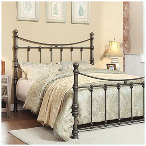 View Francesca Metal Queen Bed Deals At Big Lots Big Lots Metal Bed Frame