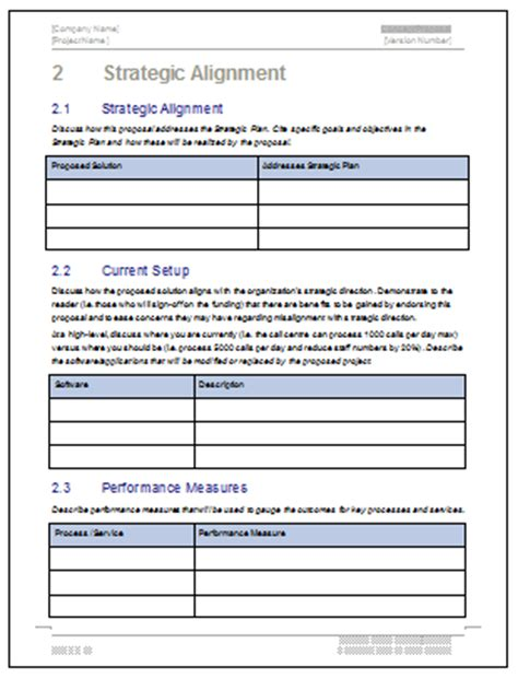 concept proposal template technical writing tips