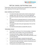 occupational therapy goal setting template related keywords suggestions for occupational therapy