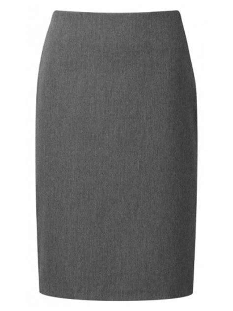 Wst 16578 Grid Front Button Skirt grey suit trouser flat front senior boys mens suit