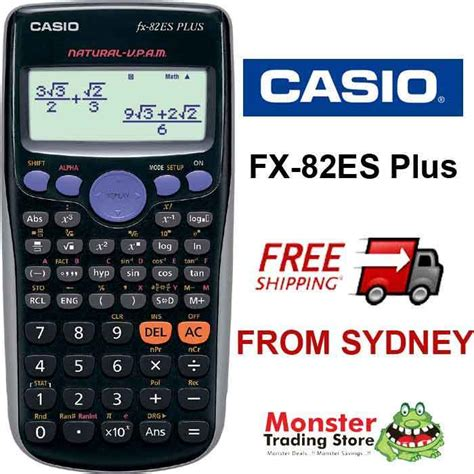 Casio Calculator Fx 82 Es Plus aussie seller casio scientific calculator fx 82es plus
