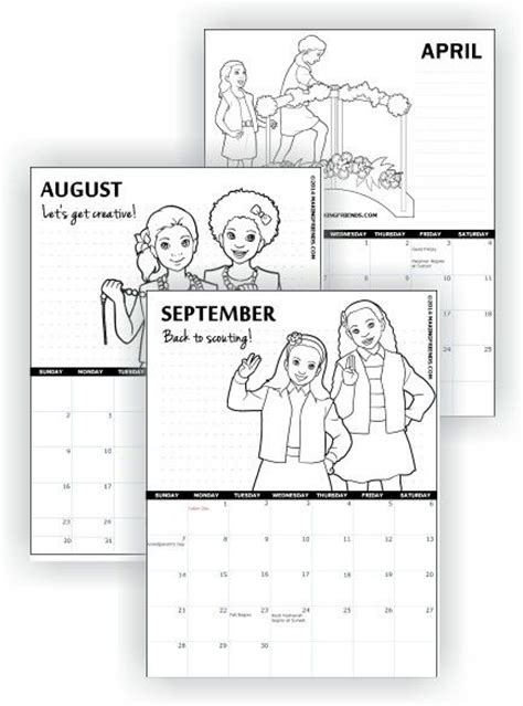scout calendar template 1000 images about scout printables on