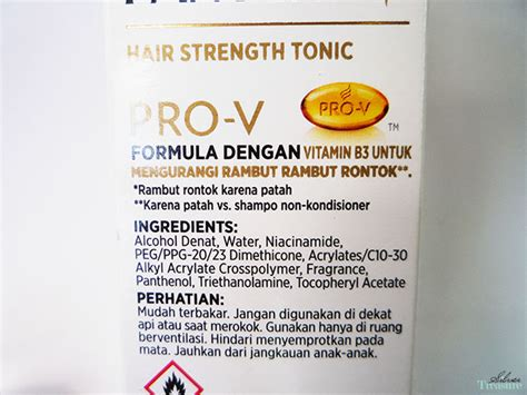 Harga Hair Strength Tonic Pantene pantene hair strength tonic silver treasure on