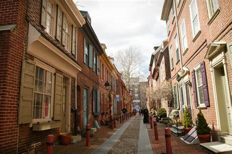 oldest street in philly elfreth s alley encyclopedia of greater philadelphia