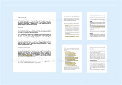 Guaranteed Investment Contract Template In Word Apple Pages Guaranteed Investment Contract Template