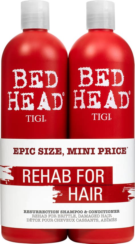 bed head urban antidotes tigi bed head urban antidotes 3 resurrection shoo and