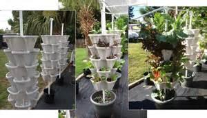 large diy vertical garden stackable planters
