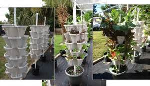 Large diy vertical garden stackable planters
