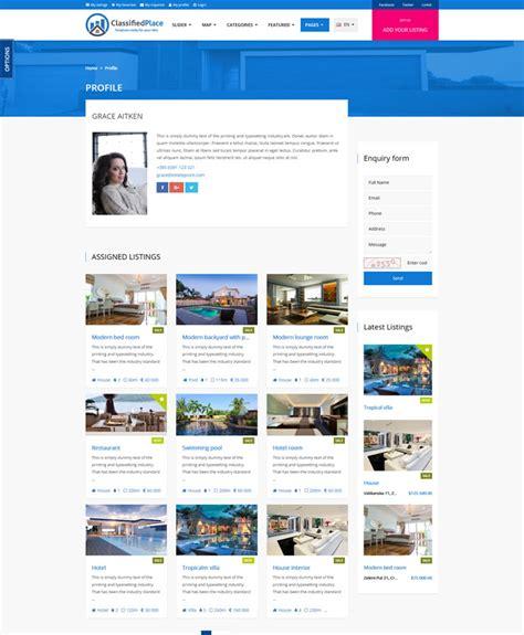 themeforest airbnb real estate geo classified ads by sanljiljan themeforest