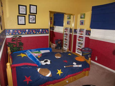 sports themed bedrooms for boys sport themed bedrooms ideas we can choose for boys bedroom