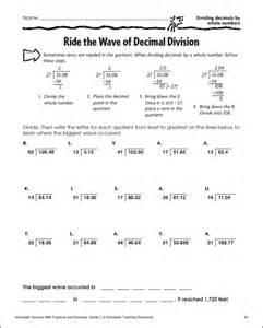 divide decimals by whole numbers worksheet davezan