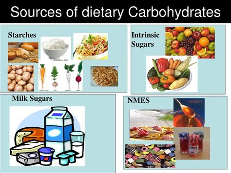 carbohydrates food sources ppt diet requirements for different client groups