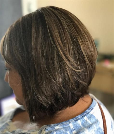 layered bob styles for older women 32 flattering short haircuts for older women in 2018