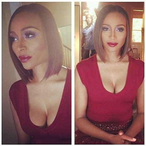 cynthia bailey bob hairstyle cynthia bailey and this bob though high fashion beauty