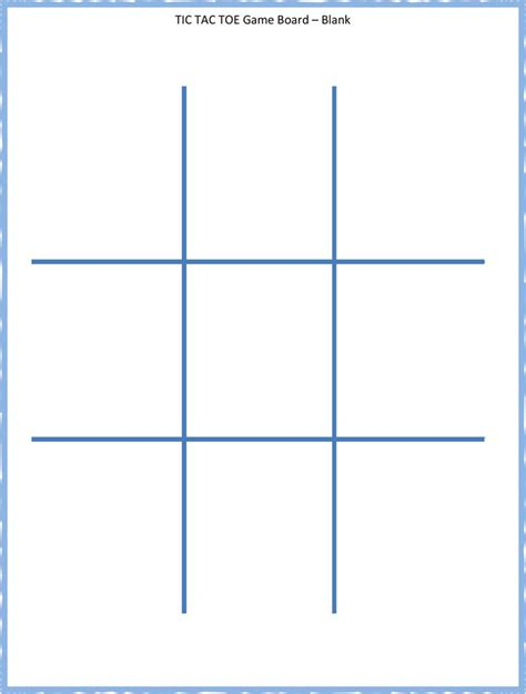 tic tac toe template word tic tac toe template free premium templates forms sles for jpeg png pdf