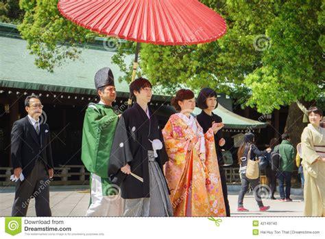 japanese shinto wedding ceremony editorial image image 42149740