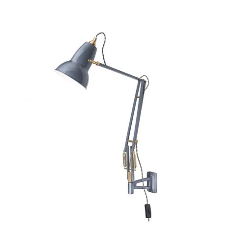 Wall Mounted Anglepoise L by Anglepoise 31329 Original 1227 Brass Adjustable Wall