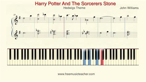 tutorial piano harry potter how to play piano quot harry potter and the sorcerers stone