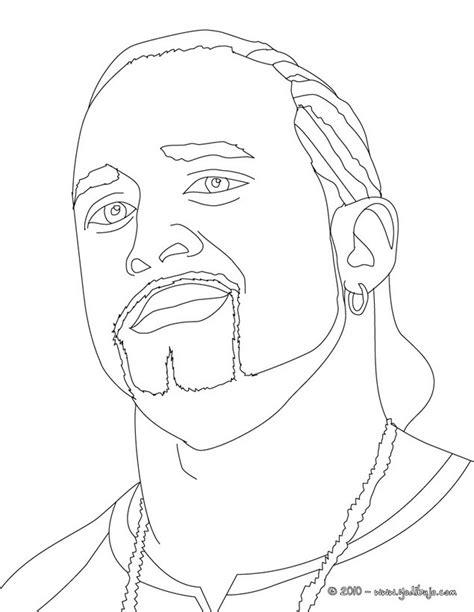 imagenes para colorear wwe dibujos para colorear el luchador mvp es hellokids com