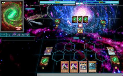 ygopro themes for android ygopro custom skin galaxy supernoid yu gi oh signer