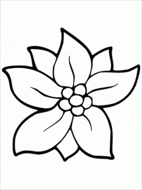 clipart of flowers coloring pages free flower coloring pages clipart best