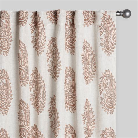 damask drapes tan damask basketweave curtains set of 2 world market