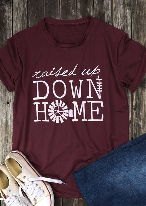 raised up home t shirt chicgrace