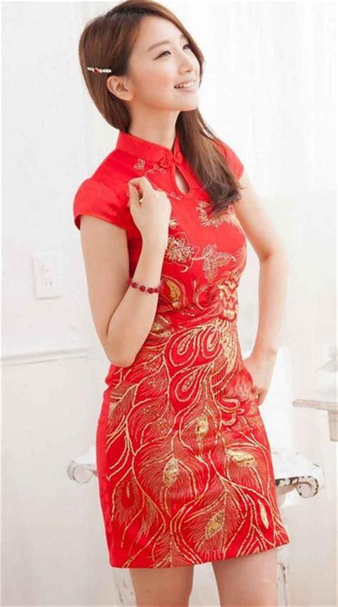 Mini Dress Krah Warna Merah kumpulan model dress modern untuk wanita 2018