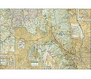 national geographic pikes peak canon city trail map