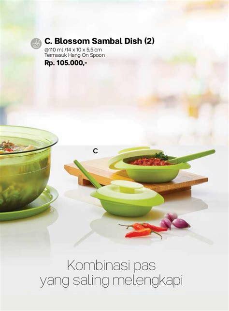 Blossom Sambal Dish 1 Tempat Sambal Tupperware 087837805779 jual tupperware 2017 promo november katalog