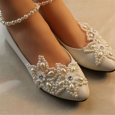 Lace Wedding Flats by Wedding Shoes Lace Bridal Shoes Lace Bridal Flats Wedding