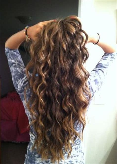 so me picture of a beach wave perm 6 more inches and its big wave perm time so excited to