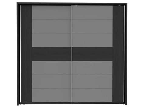 Armoire Rangement Conforama by Armoire 2 Portes Coulissantes Dolce Black Edition