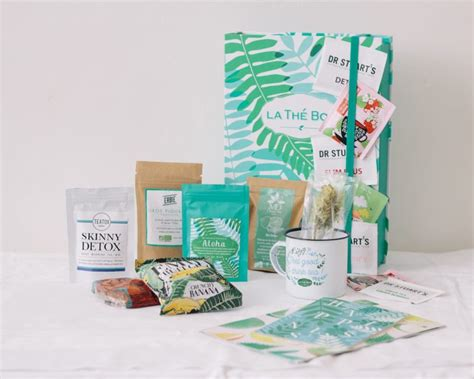The Detox Box by La Th 233 Box De Juin 2016 D 233 Tox Toutes Les Box