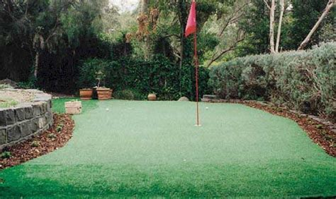 backyard golf course design backyard mini golf course large and beautiful photos